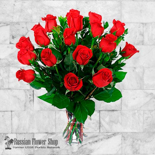 Russia Roses Bouquet #7
