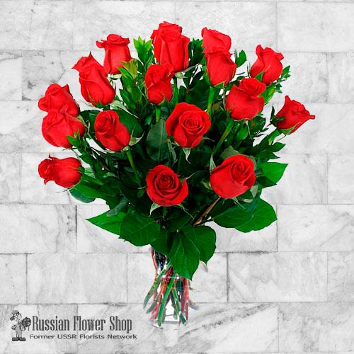 Russia Roses Bouquet #8