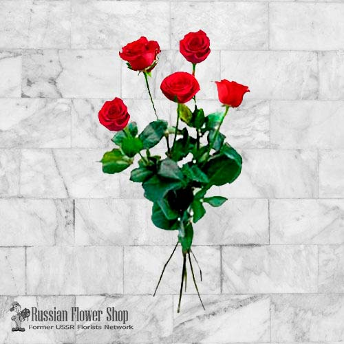 Kazakhstan Roses Bouquet #1