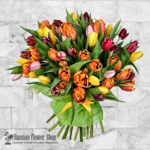 Russland Frühlingsblumenstrauß #3