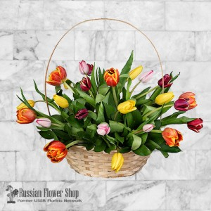 Bouquet de fleurs de printemps de Russie #4