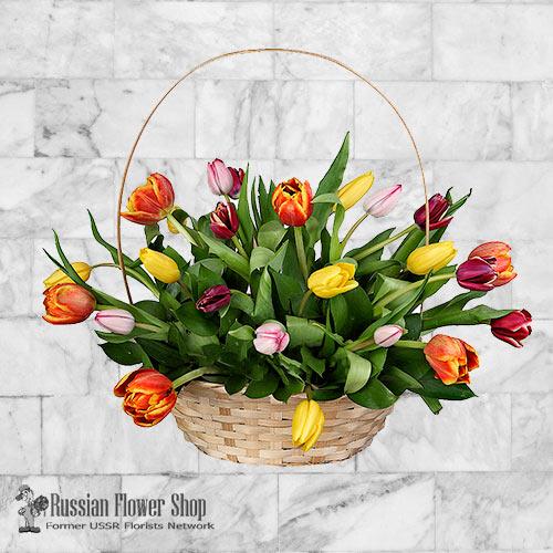 Russland Frühlingsblumenstrauß #4