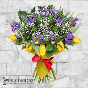 Bouquet de fleurs de printemps de Russie #5