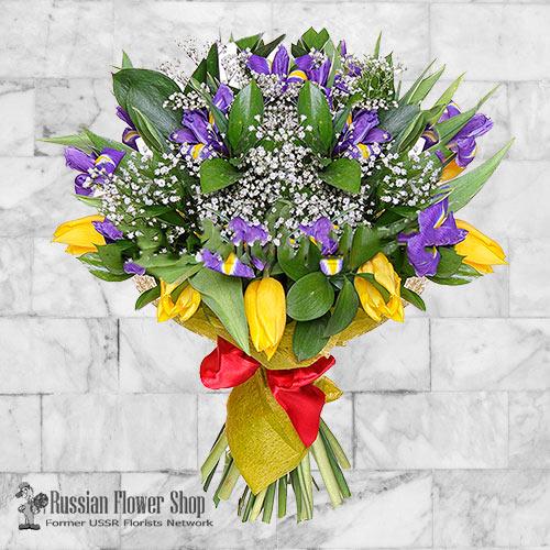 Ramo de flores de primavera de Rusia #5