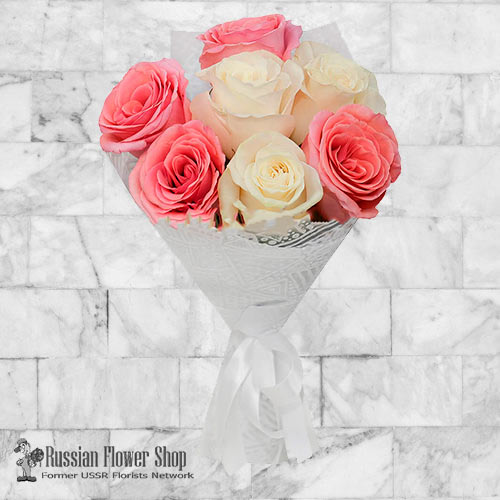 Russia Roses Bouquet #15