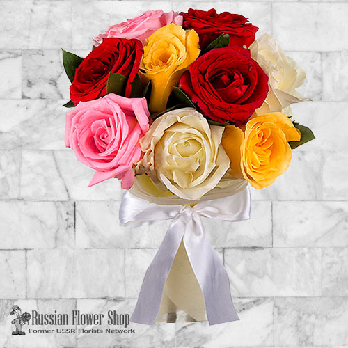 Russia Roses Bouquet #16
