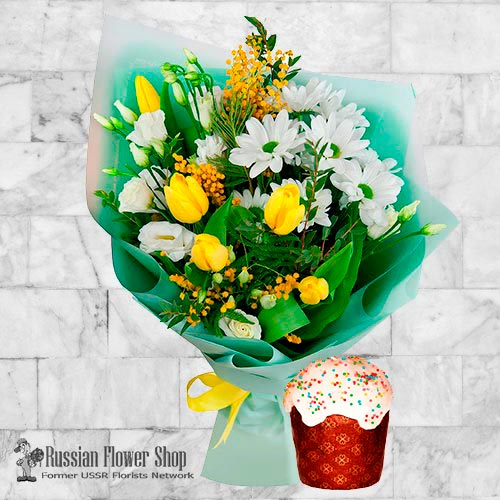 Russia Easter Flower Bouquet #3