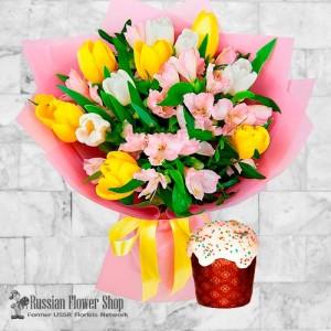 Russia Easter Flower Bouquet #4