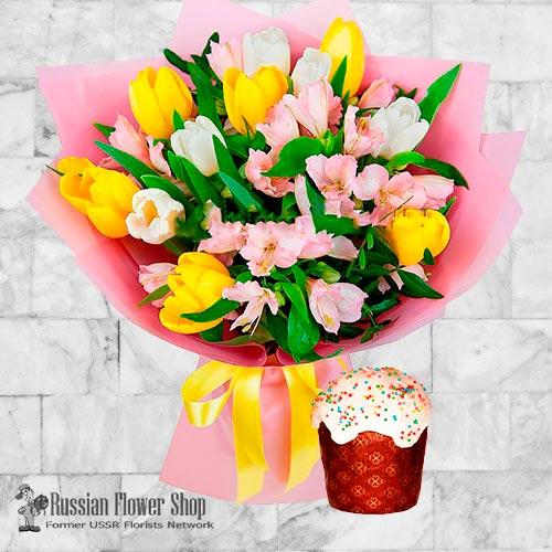 Bouquet de fleurs de Pâques Russie #4