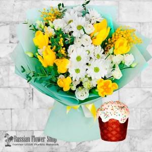 Russia Easter Flower Bouquet #5