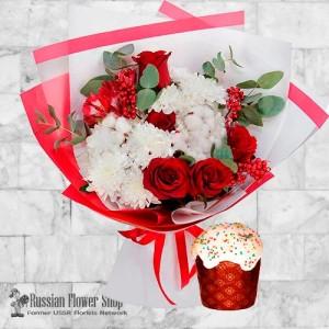Russia Easter Flower Bouquet #6
