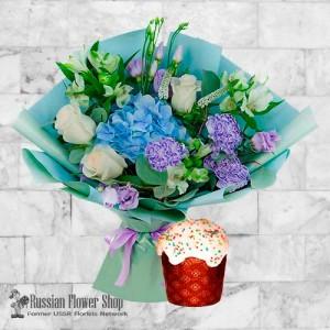 Russia Easter Flower Bouquet #12