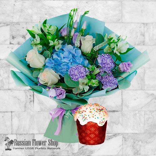 Bouquet de fleurs de Pâques Russie #12