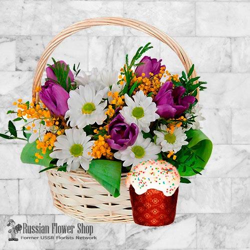 Bouquet de fleurs de Pâques Russie #13