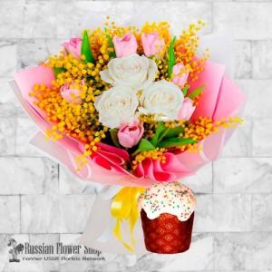 Russia Easter Flower Bouquet #14
