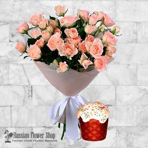Bouquet de fleurs de Pâques Russie #16