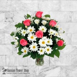 Russia Flower Bouquet #19