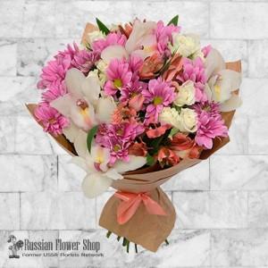 Ramo de flores de Rusia #1