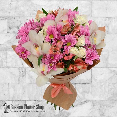 Russia Flower Bouquet #1
