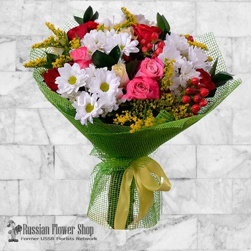 Russie bouquet de fleurs #2
