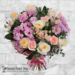 Ramo de flores de Rusia #3