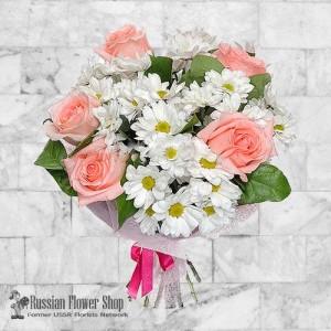 Ramo de flores de Rusia #4