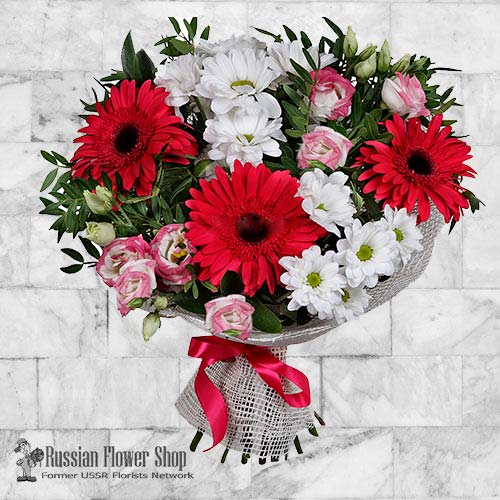 Russia Flower Bouquet #6