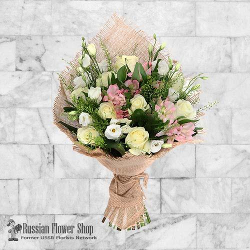 Russie bouquet de fleurs #8