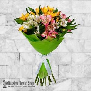 Ramo de flores de Rusia #9