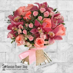 Ramo de flores de Rusia #10