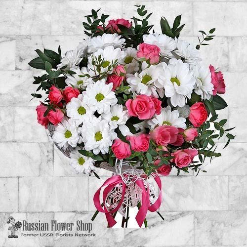 Russie bouquet de fleurs #11