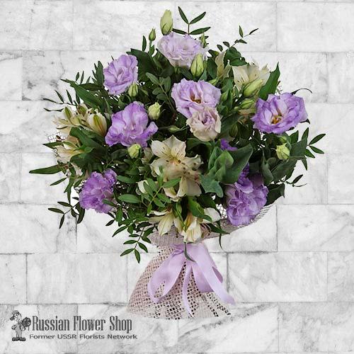 Russie bouquet de fleurs #12