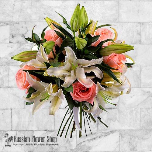 Russland Blumenstrauß #13