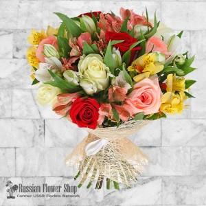Russia Flower Bouquet #14