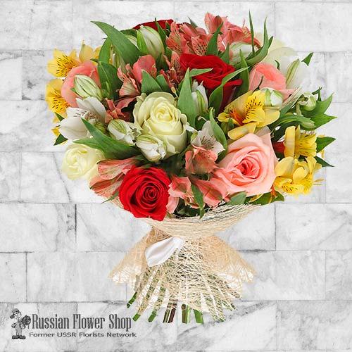 Russland Blumenstrauß #14
