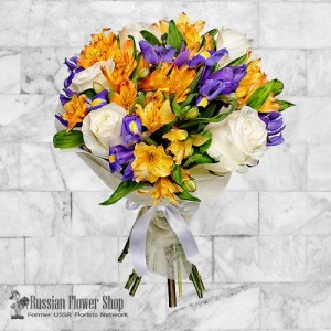 Russia Flower Bouquet #16