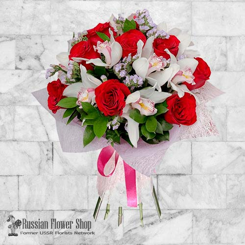 Russie bouquet de fleurs #17