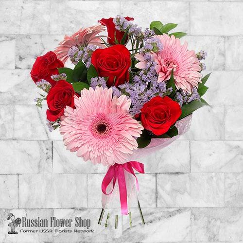 Russland Blumenstrauß #18