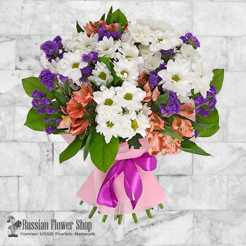 Russia Flower Bouquet #19