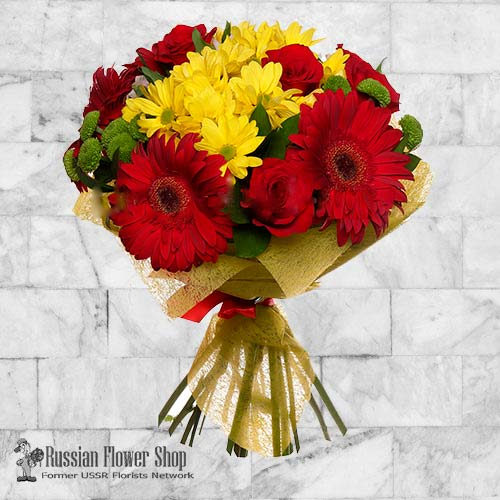 Russia Flower Bouquet #22
