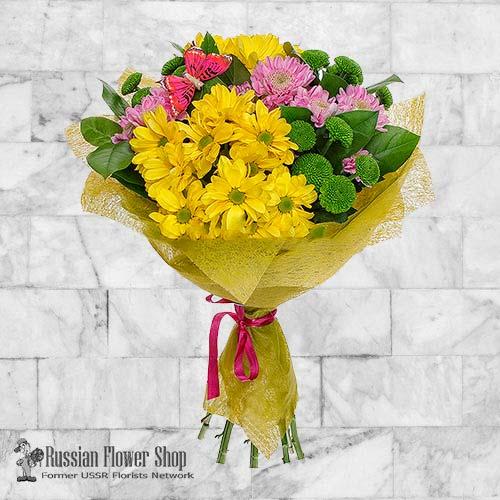 Ramo de flores de Rusia #23