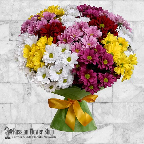 Russia Flower Bouquet #24