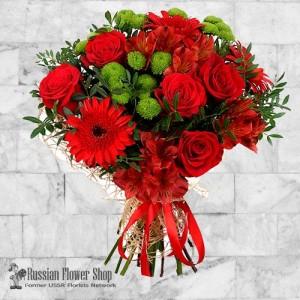 Russia Flower Bouquet #25