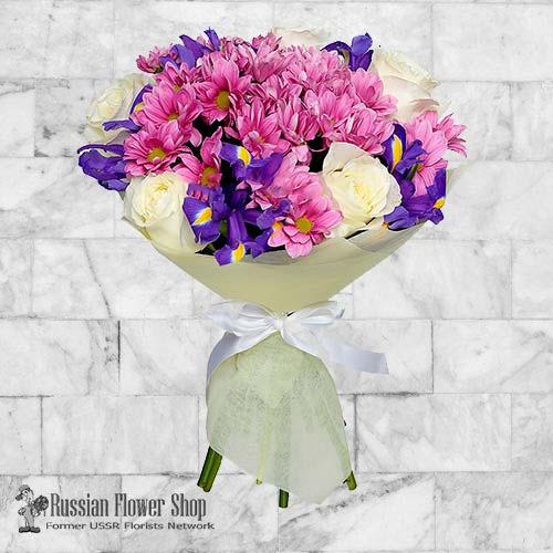Ramo de flores de Rusia #26