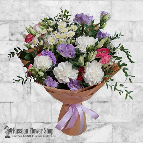 Russia Flower Bouquet #27