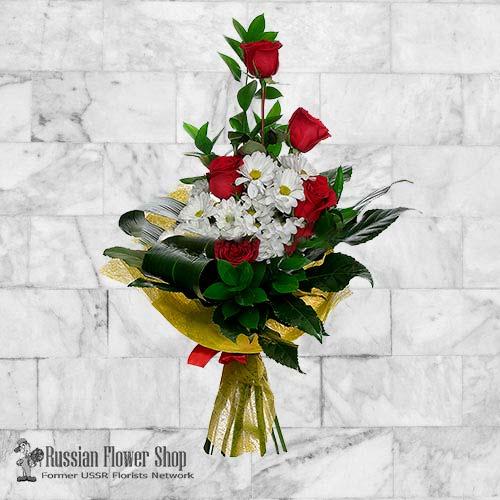 Russland Blumenstrauß #28