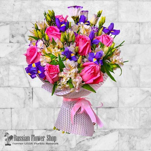 Russie bouquet de fleurs #30