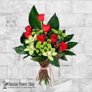 Russia Flower Bouquet #31