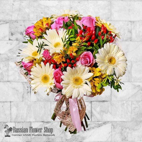 Russie bouquet de fleurs #33