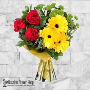Russia Flower Bouquet #36